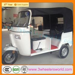China passenger bajaj three wheel taxi/bajaj discover price/CNG BAJAJ TRICYCLE