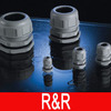 2014 hot sell dome top waterproof nylon cable gland M-S type