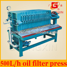 crude oil filter in crude oil refinery