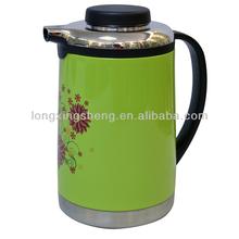Unique custom printing stainless arabic coffee pot dallah