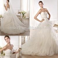 Sweetheart 2014 Latest Feather Wedding Dress Ball Gown -- XJ209