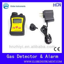 Handheld hydrogen cyanide leakage detector with HCN = 0-30 ppm Measurement Range