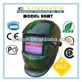 personalizado verde exército capacete de soldagem