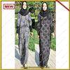 2014 Newest design twoface muslim women long dress/ women long abaya / lady kaftan