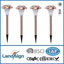 Solar light price list from landsign, Item number: XLTD-317, black plactic finishe, 1*white led, no switch,