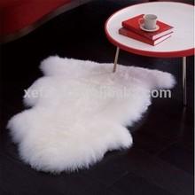 super soft sheep skin rug