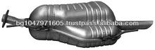 Rear muffler 681660 for OPEL Astra G