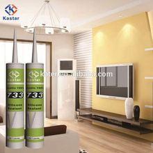 Acetoxy,silicone rubber sealant,100% RTV Silicone