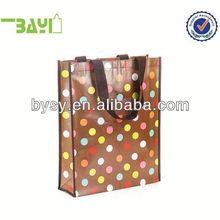 Custom-made non woven handled shopping bag