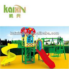 2015 Children Outdoor Plastic Backyard Playsets