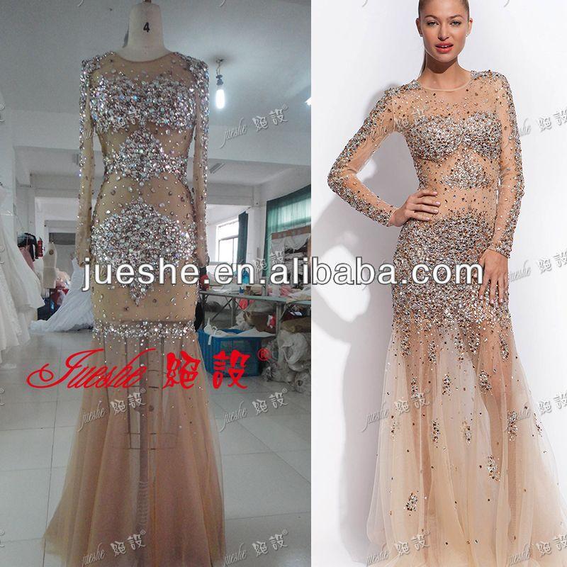 Transparent Evening Dress
