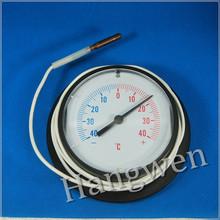 HVAC capillary thermometer