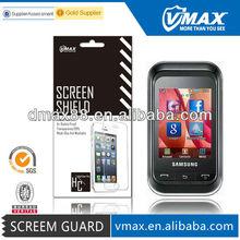Mobile screen protector for Samsung champ oem/odm (Anti-Glare)