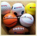 Cheapest PU foam anti stress game ball