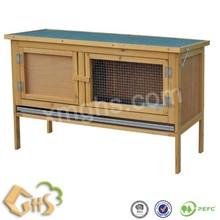 wooden rabbit cage 10023