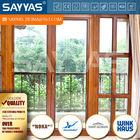 aluminum wood outward open window and door