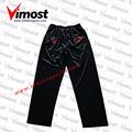Sublimada 100% de poliéster sudor pantalones pantalones de cricket