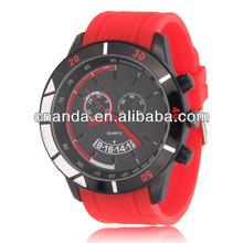 BM1027 Silicone Men Size Quartz Japan Movt Sport Watches ots