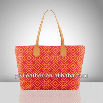 V637-2014 cotton canvas handbag, bags for women 2014,OEM/ODM Factory