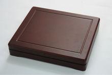 high quality wooden coin box / coin saving box
