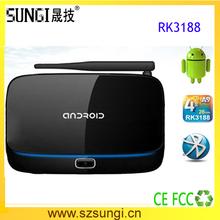 Electronic market dubai ARM Cotex-A9 1.4GHz CPU android tv box