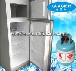 XCD-240 electric 220V LPG Butane Gas absorption refrigerator& freezer/fridge