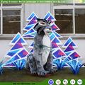 adultos de los animales de dibujos animados para el parque de la decoración del paisaje