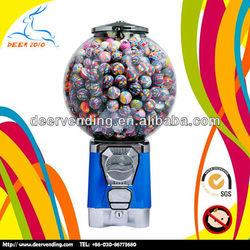 Big globe snack vending machine/candy dispenser/gumball vending machine