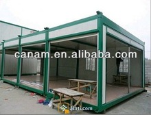 canam- well decorated cheap prefab modular container house/homes