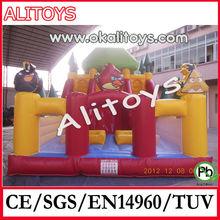 popular kids inflatable slide,inflatable cartoon slide,inflatable birds slide