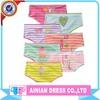 7PCS/PACK High Quality Printing Children Girls Underwear Young Girls Panties