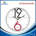 Reloj de pared de plástico / número large wall clock / reloj de péndulo piezas