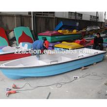 Wonderful design 7 seats fiberglass rowing boat,water fishing boat