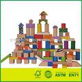 blocos de madeira castelo blocos brinquedos