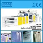 T- Die 3300mm 3 layers CPE die casting machine casting film extrusion machine (Factory)