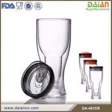 Personalized plastic beer mug cups custom