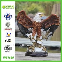 Tabletop Resin Eagle Sculptures
