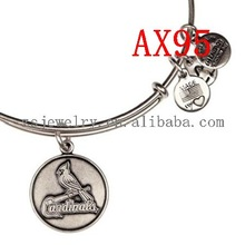 Alex and Ani St. Louis Cardinals Primary Logo Expandable Wire Bangle russian costumes