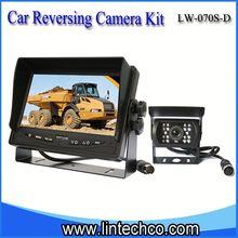 car reversing camera| digital car LCD monitor| wired rear vision system for break bulk cargo carrier