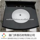 Chinese granite absolute black bathroom vanity top
