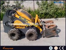 skid steer loader/ mini type 300kg/ import engine