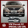Mükemmel özel passat cc 2010-2012 led DRL, led gündüz farı volkswagen sis lambası, ultra- parlak led aydınlatma
