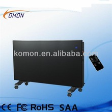 2000/1000W Black color Glass Panel Heater High quality model