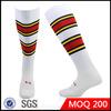 white sport sock/knee high sport sock/custom athletic sock