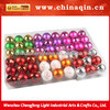 Hot new products for 2014 plastic painting christmas balls