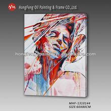 Woman Figure Oil Painting Modern