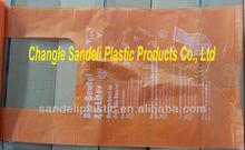 cheap customized t-shirt plastic shopping bag on roll