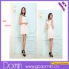 Ladies Fashion Lapel Sleeveless Short Floral Print Dresses