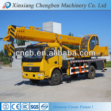 Strong Power Double-Winch Mobile Hydraulic Truck Crane