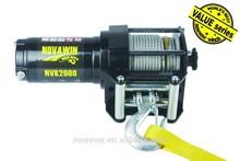 mini 12v electric winch, atv